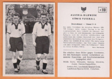 West Germany v Ireland Retter Stuttgart A110 (B)